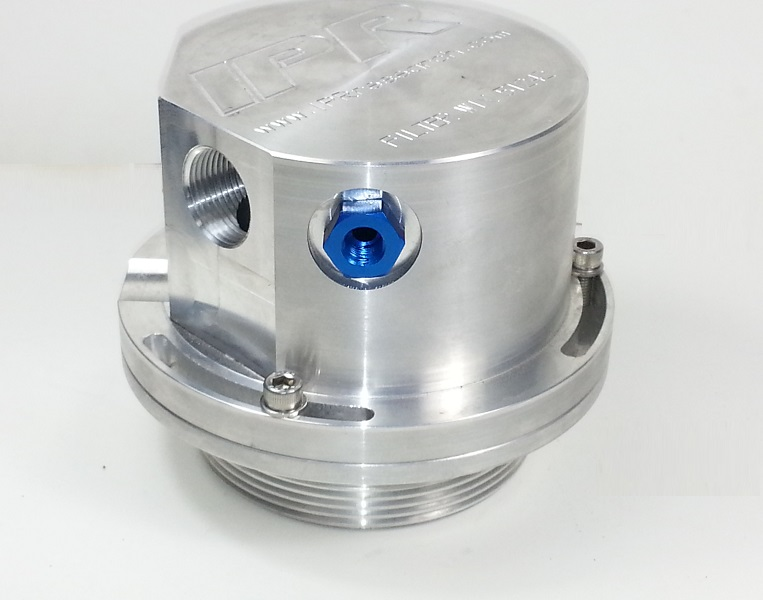 ipr metric to 1  8npt adapter oil bypass fitting ford 6 0 6
