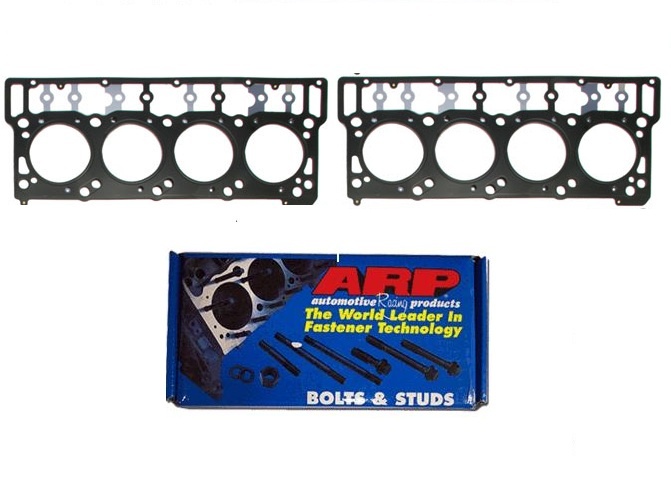 ARP Head Studs & Black Onyx Head Gasket Basic Kit 18mm