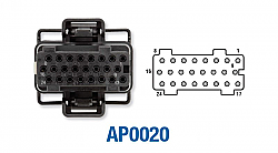 FORD Fuel Injection Control Module FICM Connector F250, F350, F450, F550 Powerstroke 6.0