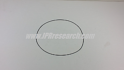 FORD Garret Turbo Charger Compressor Housing Oring 2003-2010 F250, F350, F450, F550 Powerstroke 6.0 International VT365