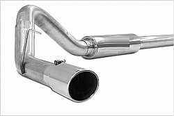 Race Exhaust Stainless Turbo Ford 6.7 2012-2015 F250, F350, F450, F550