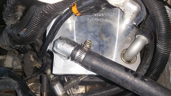 Ipr External Oil Cooler Kit For Ford 6 4 Powerstroke