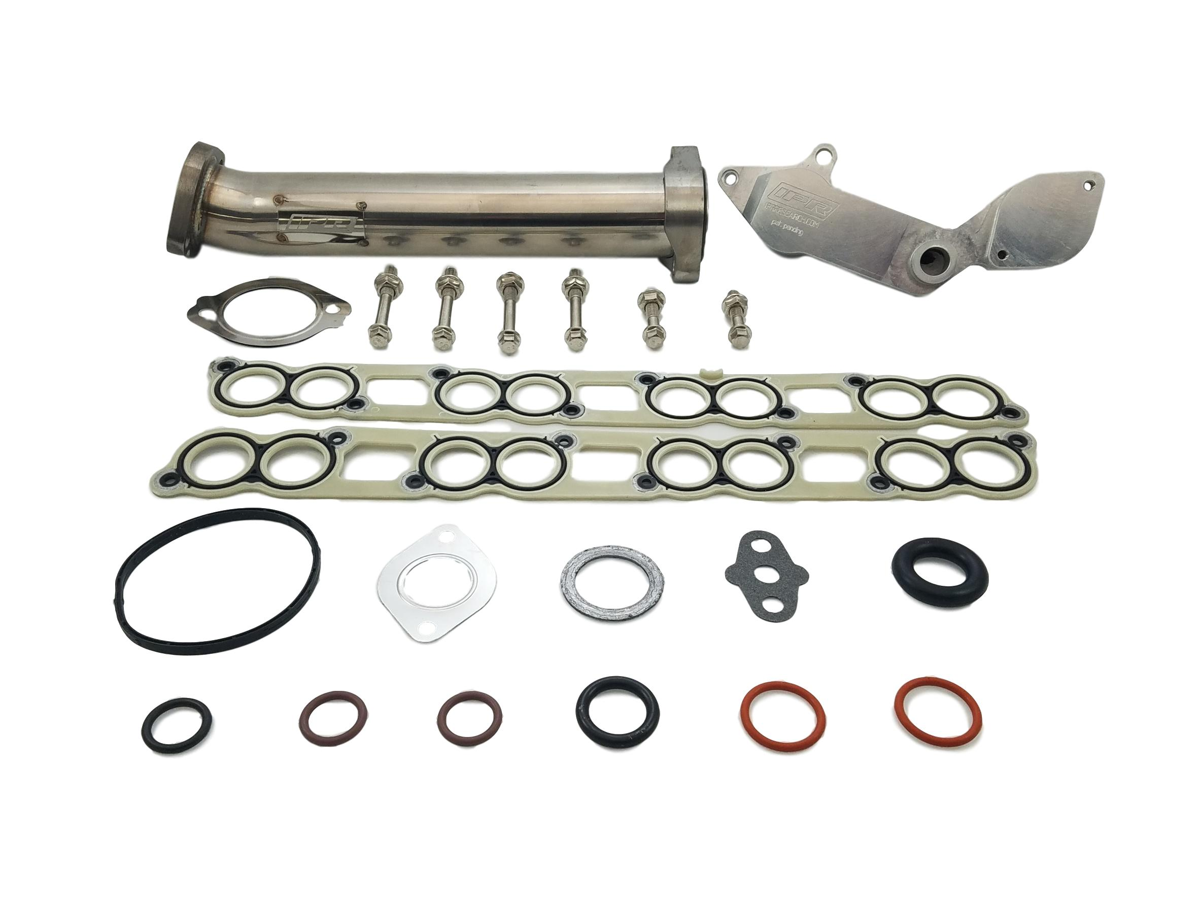 IPR EGR GEN2 Delete Kit with Up Pipe & Gaskets for all 2005