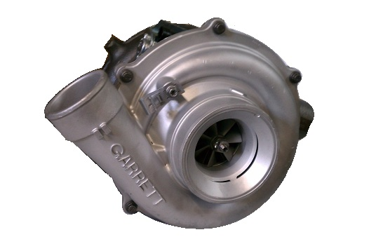 Garrett New Turbo Charger w/VGT Solenoid 2005-2007 F250, F350, F450, F550 Powerstroke 6.0 International VT365