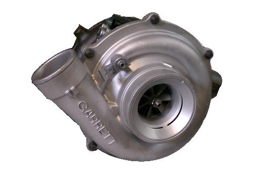 Garrett New Turbo Charger w/VGT Solenoid Billet Stage 1 Compressor Wheel 2004-2007 F250, F350, F450, F550 Powerstroke 6.0 International VT365