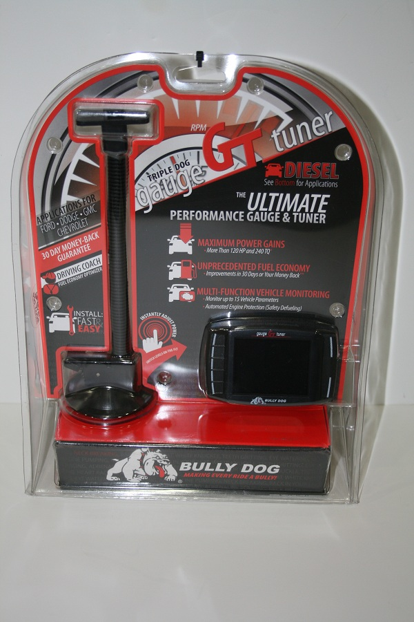Bully Dog Triple Dog GT Gauge Tuner All Ford Powerstroke Diesel, Duramax & Cummins 49 State