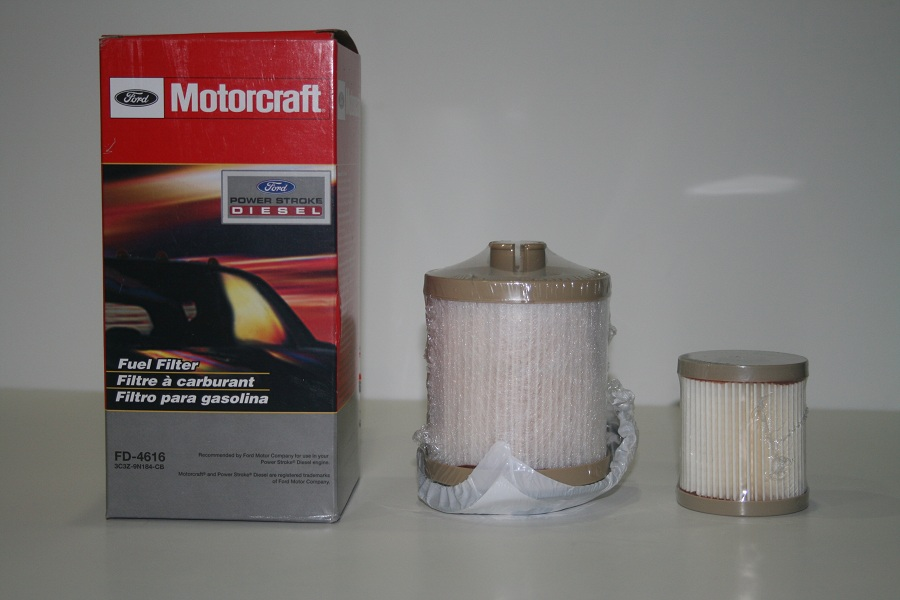 FORD Motorcraft Diesel Fuel Filter 2003-2007 F250, F350, F450, F550 Powerstroke 6.0 International VT365