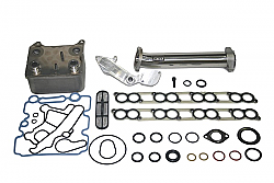 IPR GEN2 EGR Delete Kit, Ford OEM Oil Cooler & Gaskets for all 2003-2004 Ford Powerstroke 6.0 will fit F250, F350, F450