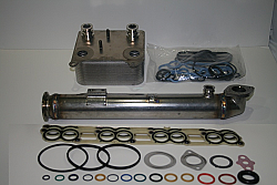 "IPR Extreme Duty EGR Cooler ""Round Body"" and Ford OEM Oil Cooler for all 2003-2004 Ford Powerstroke 6.0"