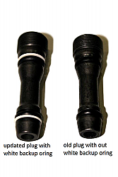 "Ford 6.0 Updated Injector Rail Plugs AKA ""Dummy Plugs"""