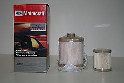 FORD Motorcraft Diesel Fuel Filter 2003-2007 F250, F350, F450, F550 Powerstroke 6.0 International VT365