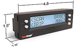 Scangauge II Monitor all 1996-vehicles  F250,F350, F450, F550