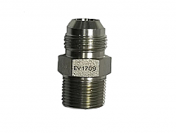 IPR AN12 Steel Fitting Straight to 3/4 NPT