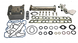IPR GEN3 EGR Delete Kit, Ford OEM Oil Cooler & Gaskets for all 2003-2004 Ford Powerstroke 6.0 will fit F250, F350, F450