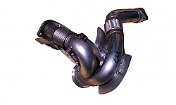 FORD Exhaust Y Pipe Collector 2003-2004 F250, F350, F450, F550 Powerstroke 6.0 International VT365