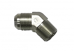 IPR AN12 Steel Fitting 45 Degree to 3/4 NPT