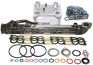 IPR Extreme Duty EGR Cooler & Ford OEM Oil Cooler for all 2004-2007 Ford Powerstroke 6.0L